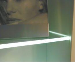 Glasbodenleuchte L1