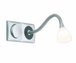 Schalter-Leuchten-Kombi, 2 - fach