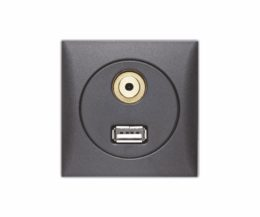 USB / Audio Durchgangsbuchse