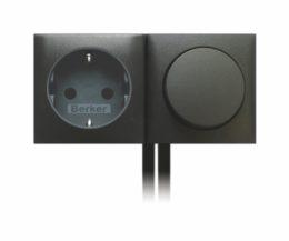 Schalter - Steckdosen - Kombination